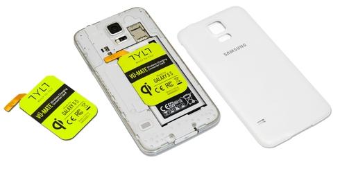 Tylt  SAGS5ECT VU-MATE Wireless Charge Rcvr Card BULK GS5/GS5 Neo