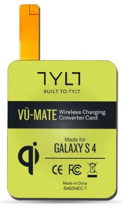Tylt  VU-MATE Wireless Charge Receiver Card GS4