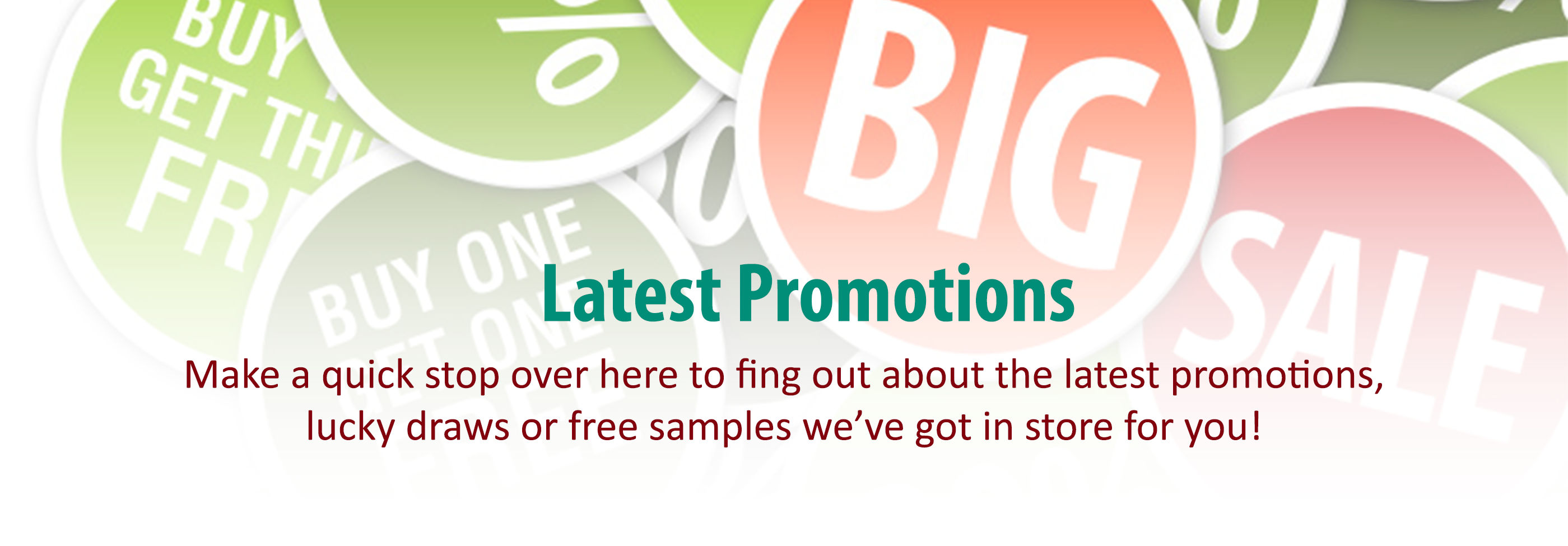 Promotions-Banner